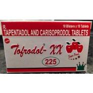 Tofrodol - XX 225mg (Tapentadol + Soma)